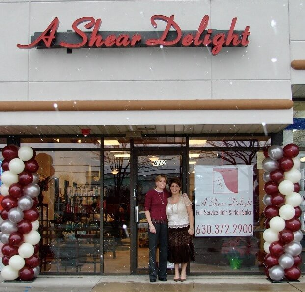 jazzi Balloon Decor store front decoration