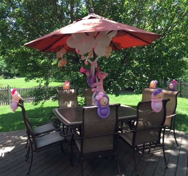 jazzi entertainment services Balloon Decor outdoor
