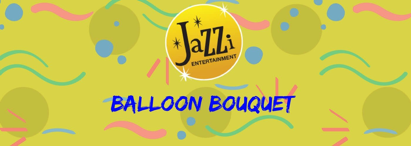 Jazzi shows and services gallery banner balloon bouquet