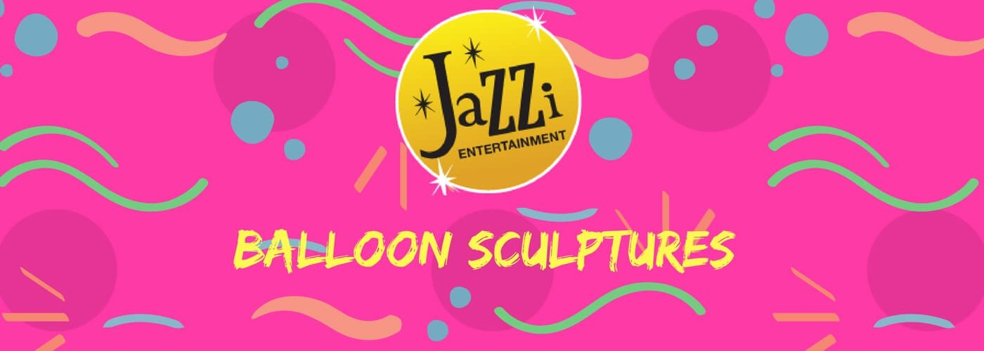 Jazzi shows and services gallery banner balloon sculptures
