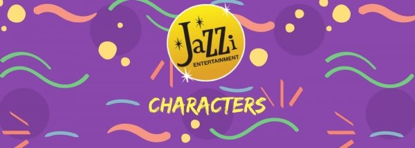 Jazzi shows and services gallery banner characters