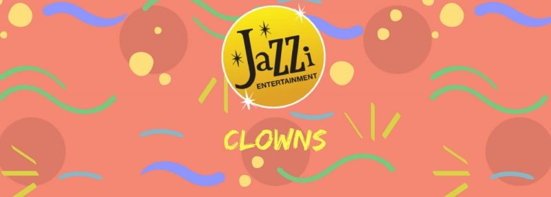 Jazzi shows and services gallery banner clowns