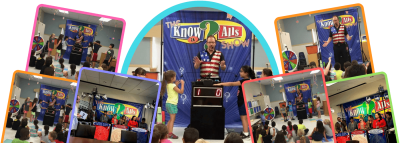jazzi Shows the know it alls show banner
