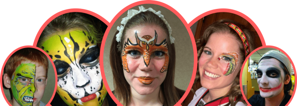 jazzi services Face Painting banner