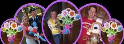jazzi services banner balloon Bouquet