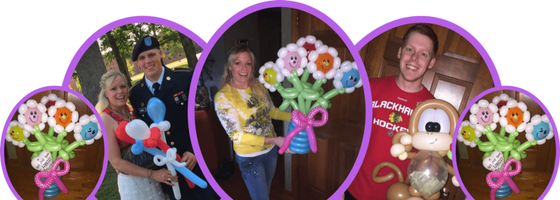 jazzi services banner balloon Bouquet