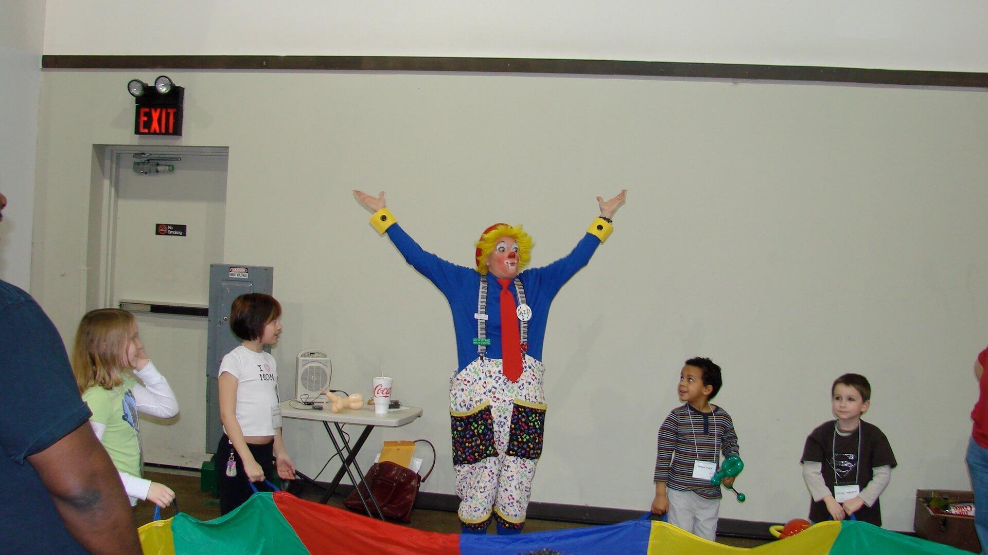 jazzi shows circus skills workshop
